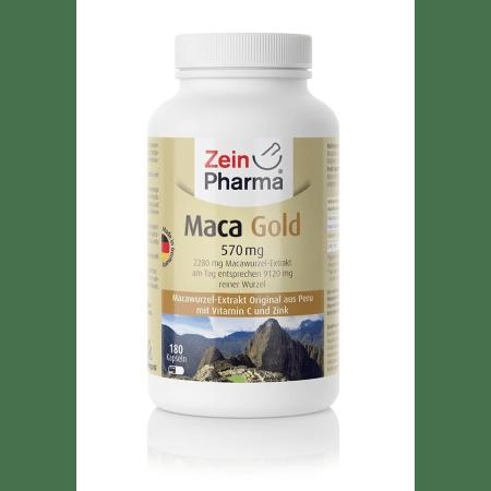Maca Gold 570mg (180 capsules)