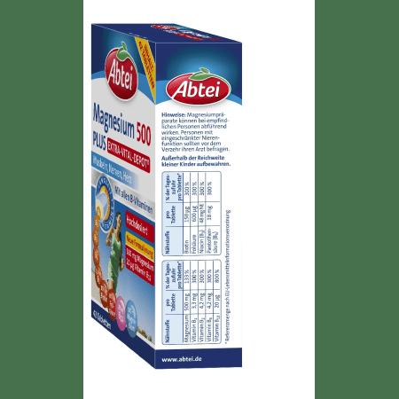 Magnesium 500 Plus Extra-Vital-Depot (42 Tabletten)