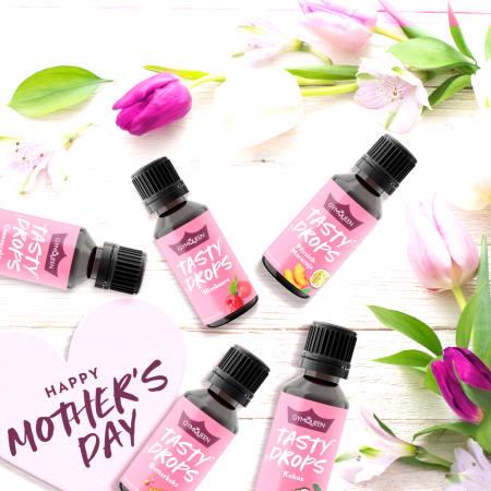 Muttertags-Geschenkbox (5x30ml Tasty Drops)