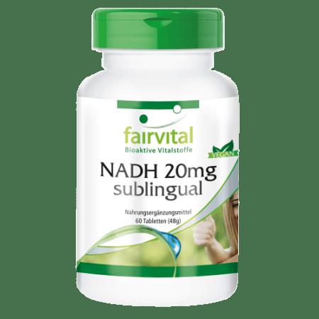 NADH 20mg (60 Tabletten)