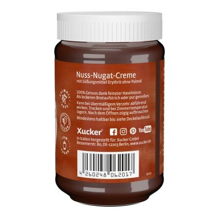 Nuss-Nougat Creme mit Erythrit (300g)