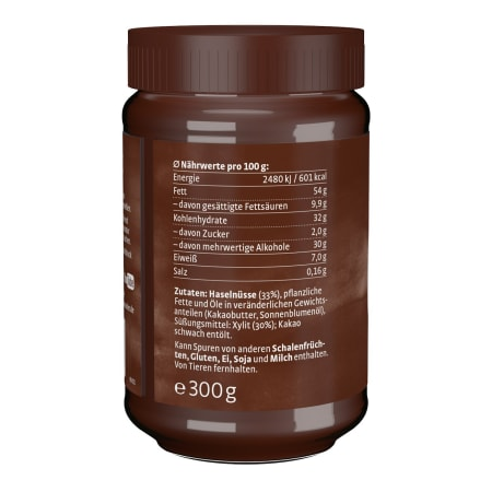 Nut-Nougat Spread with xylitol (300g)