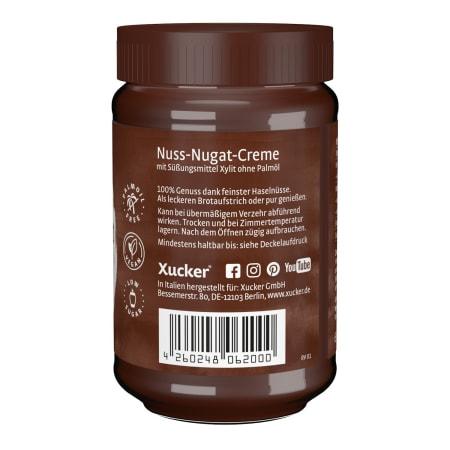 Nuss-Nougat Creme mit Xylit (300g)
