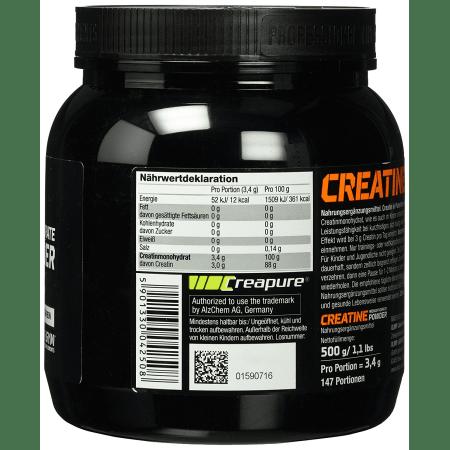Creapure Monohydrate Powder (500g)