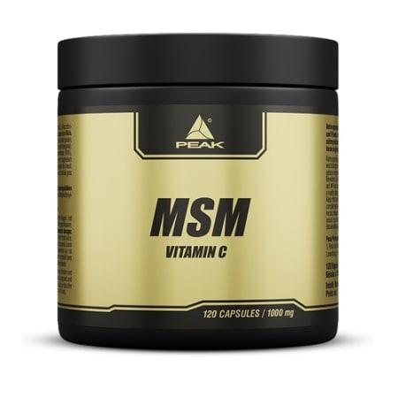 MSM - Vitamin C (120 capsules)