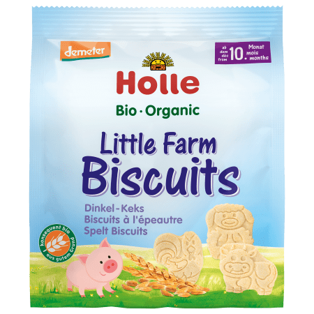 Bio-Little Farm Biscuits, ab dem 10. Monat (100g)