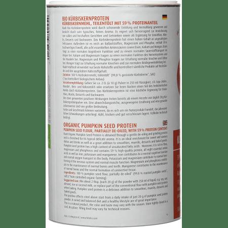 Bio Kürbiskern Protein (500g)