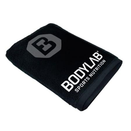 Bodylab24 Towel 100x50cm - zwart