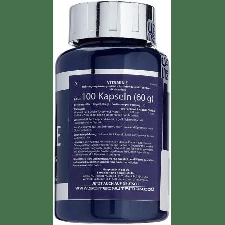 Vitamine E (100 capsules)