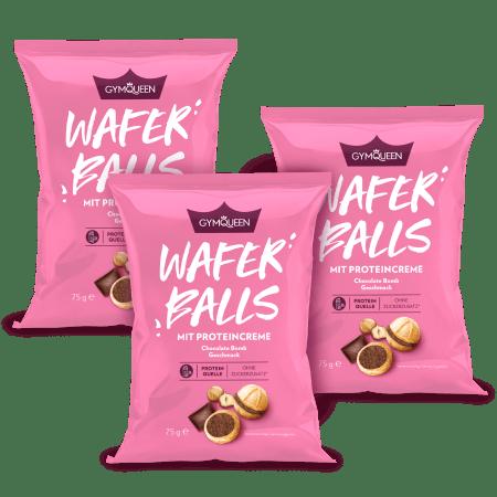 Protein Wafer Balls 3er Pack
