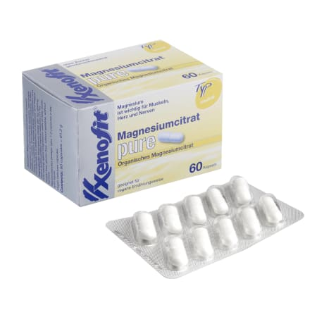 Magnesiumcitrat pure (60 Kapseln)