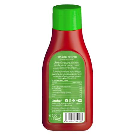 Xylit Tomaten-Ketchup (500ml)