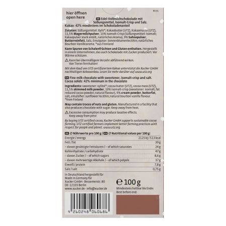 Salz-Karamell Schokolade (100g)