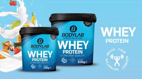 GAAANZ VIEL EIWEISS – Whey Protein bei Bodylab24