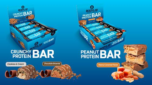 Neue Protein Riegel bei Bodylab24 – SCHON PROBIERT?