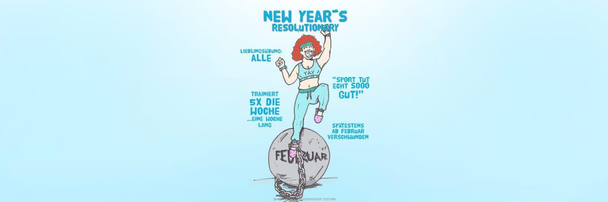 Gym Typen - die New Years Resolutionary