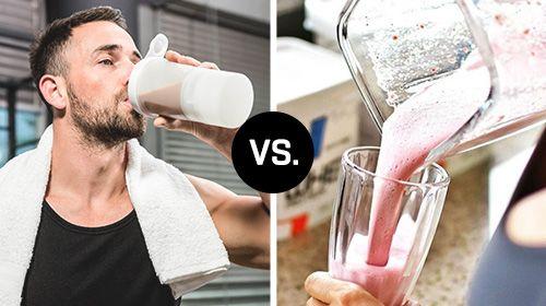 Eiweißshakes, Weight Gainer oder beides?
