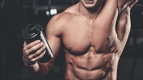 Zuckerarme Weight Gainer für schlanke Muskelmasse