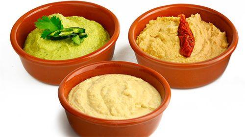 Healthy Hummus aus Kirchererbsen