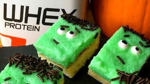 Halloween Protein Cake