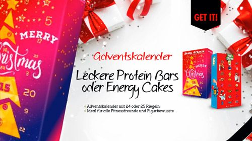 24 x bis Weihnachten ein Türchen öffnen - Adventskalender bei Bodylab24