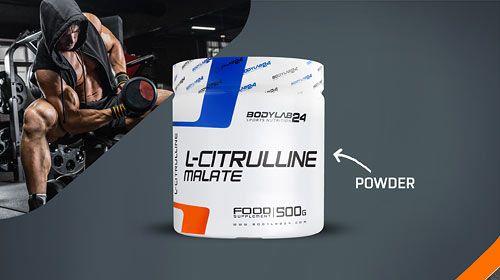 L-Citrullin Malate - neue Produkte bei Bodylab24