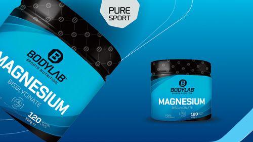 Magnesium Bisglycinat Kapseln - jetzt neu bei Bodylab24