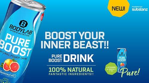 Pure Boost Drink - jetzt NEU bei Bodylab?