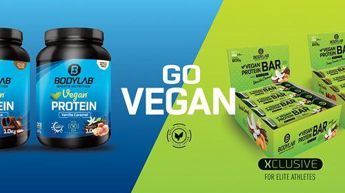 Vegan Protein Bar - XCLUSIVE Line - der vegane Eiweißriegel