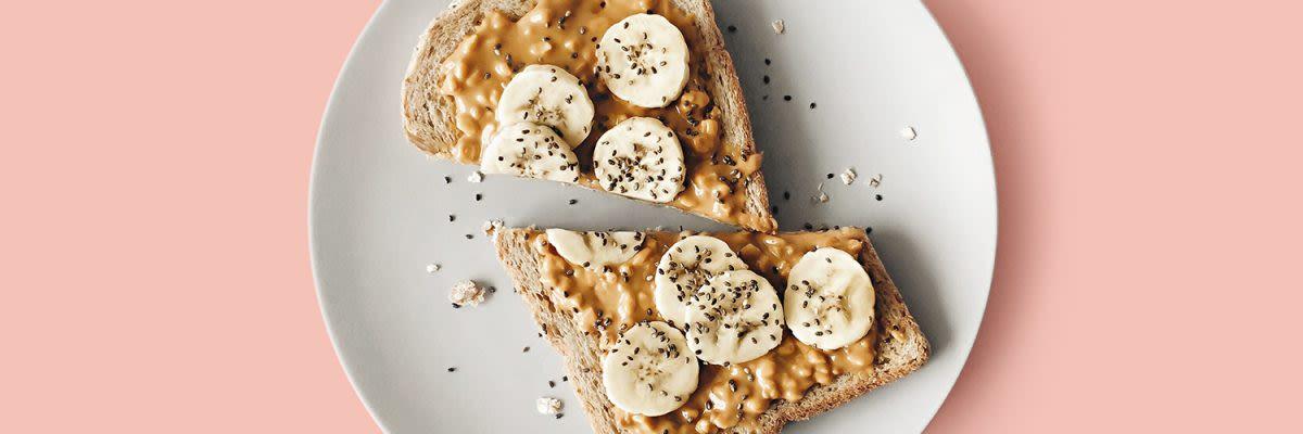 peanut butter tosti