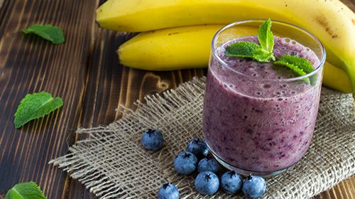 Whey Berry Banana Smoothie