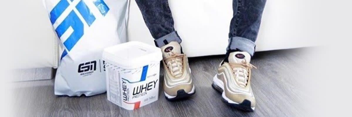 verpacking caseine en whey