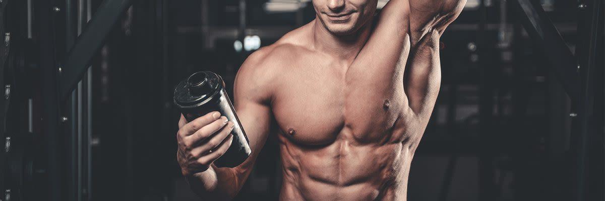 man met Weightgainer