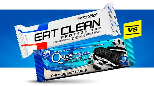 Review - Eat Clean Bar VS. Quest Bar