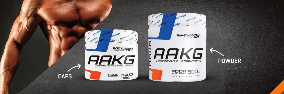 AAKG capsules en poeder