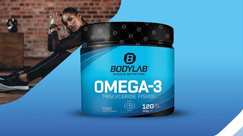 Bodylab24 Omega-3 1000mg triglyceride capsules - Nieuw