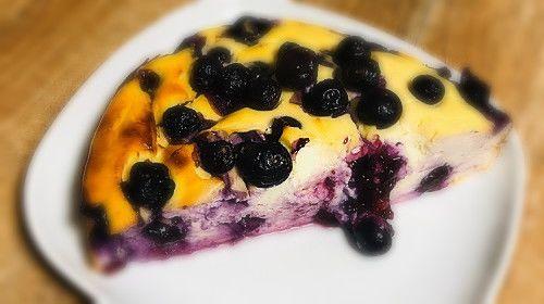 Fitness cheesecake met bosbessen bij Bodylab