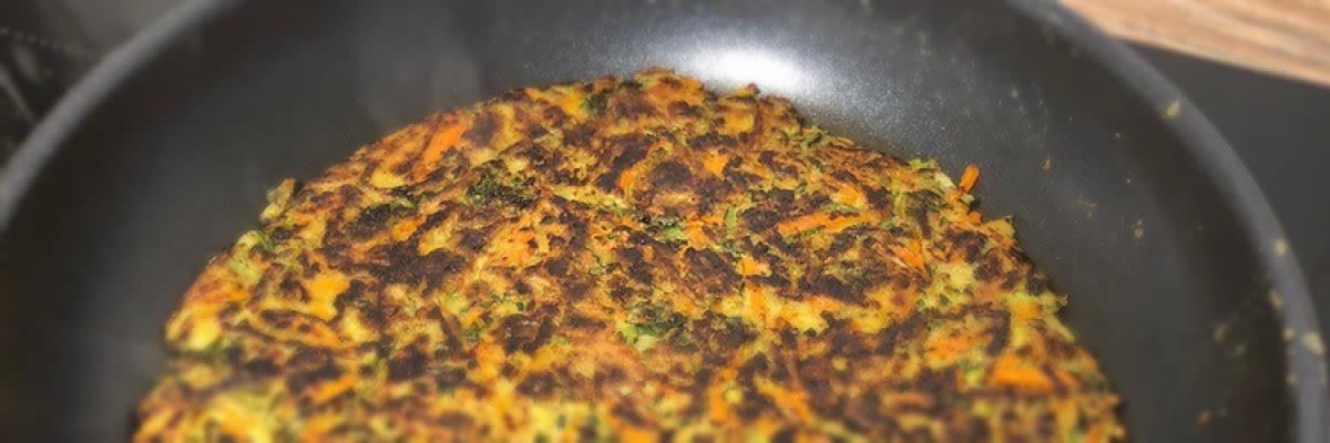 Courgette wortel koekjes