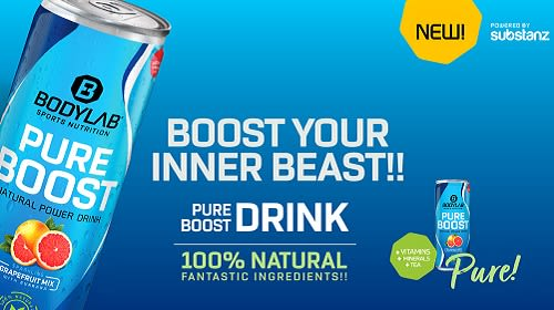 Pure Boost Drink – nu NIEUWE bij Bodylab!