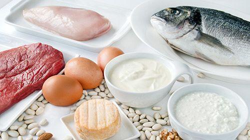 Ernährung beim Muskelaufbau