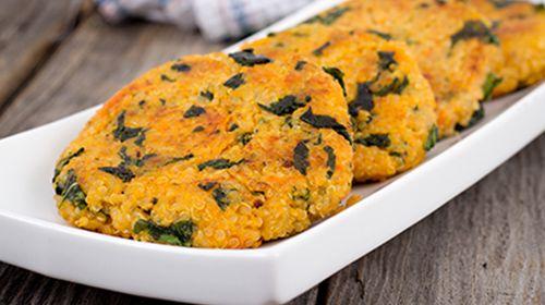 Vegane Quinoa Bratlinge vom Grill