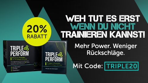 TRIPLE PERFORM – Protein Powder mit Tri-Collagen Komplex