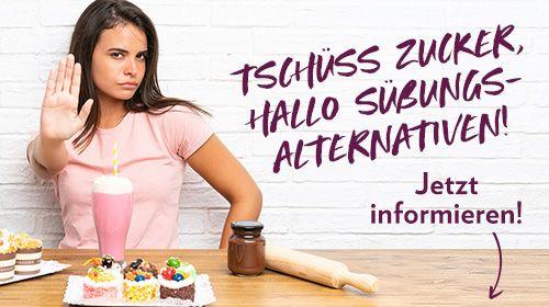 Süßungsalternativen - So wirst du den Zucker los!