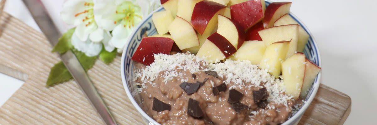 veganes Porridge