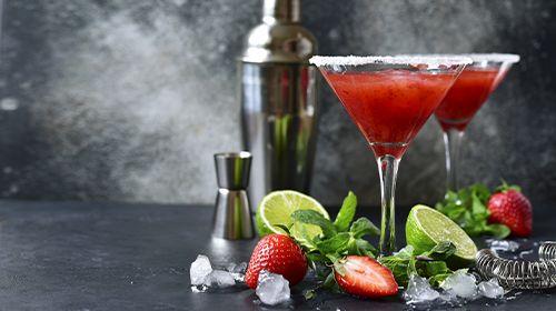 Alkoholfreier Strawberry Daiquiri