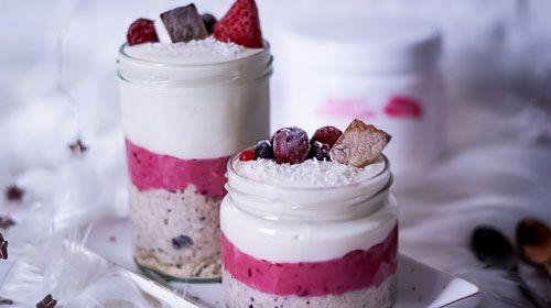 Dreamy Cheesecake-Oats