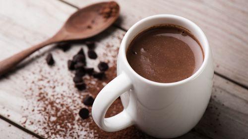 Zuckerarme heiße Schokolade