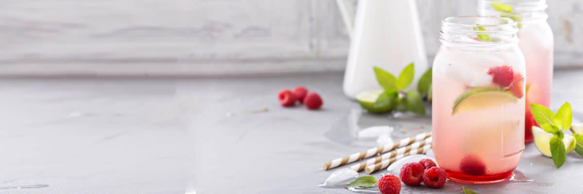 Detox Eistee mit Ingwer und Zitrone