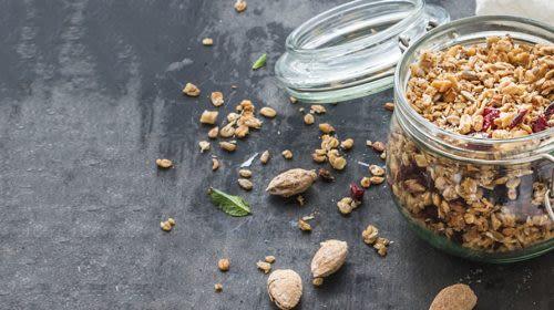 Power-Frühstück: Honig-Mandel-Granola