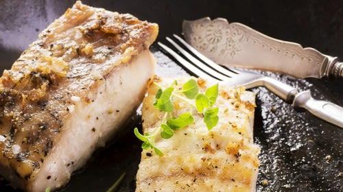 Fischfilet in Ei-Käsehülle